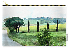 Misty Morning In Umbria Carry-all Pouch