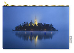 Misty Morning Lake Bled Slovenia Carry-all Pouch