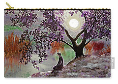 Misty Morning Meditation Carry-all Pouch by Laura Iverson