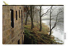 Misty Morning On The Illinois Michigan Canal  Carry-all Pouch