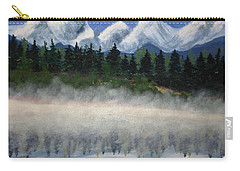 Misty Morning On The Mountain Carry-all Pouch