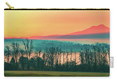 Misty Mountain Sunrise Part 2 Carry-all Pouch by Alan Brown