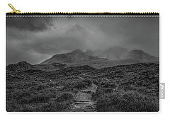 Misty Mountains Bw #g8 Carry-all Pouch