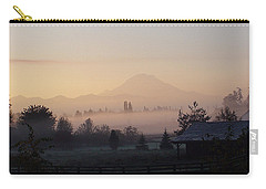 Misty Mt. Rainier Sunrise Carry-all Pouch