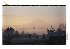 Misty Mt. Rainier Sunrise Carry-all Pouch