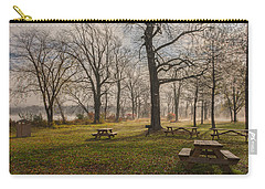 Misty November Picnic Grove Carry-all Pouch