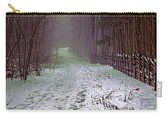 Misty Path #e5 Carry-all Pouch by Leif Sohlman
