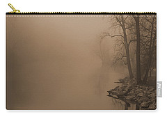 Misty River - Vintage  Carry-all Pouch