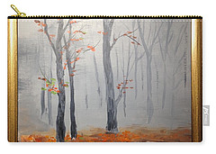 Misty Stream In Autumn Carry-all Pouch