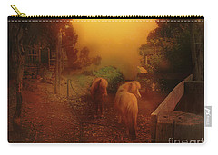 Misty Sundown Carry-all Pouch