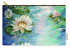 Misty Waters Waterlily Pond Carry-all Pouch