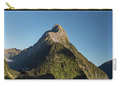 Carry-all Pouch featuring the photograph Mitre Peak Rahotu by Gary Eason