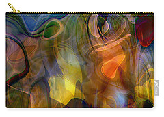 Mixed Emotions Carry-all Pouch by Linda Sannuti