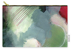 Carry-all Pouch featuring the mixed media Mixed Media Abstract 3617 by Patricia Cleasby