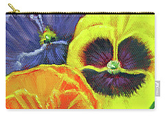 Mixed Pansy  Carry-all Pouch