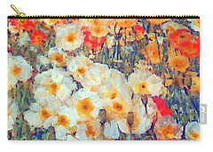 Mixed Poppies Carry-all Pouch
