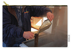 Mixing The Maple Syrup Carry-all Pouch by James Kirkikis