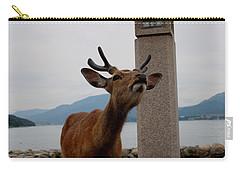 Miyajima Deer Carry-all Pouch