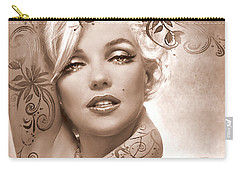 Mm 127 Deco Sepia Carry-all Pouch