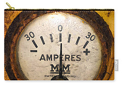Mm Amperes Gauge Carry-all Pouch