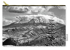 mMt. St.Helens Autumn in Black and White Carry-all Pouch