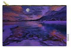 Mnon Over The Frozen Lands Carry-all Pouch