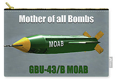 Carry-all Pouch featuring the painting Moab Gbu-43/b by David Lee Thompson