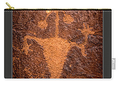 Moab Man Poster Carry-all Pouch by Gary Whitton