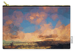 Moab Sunrise Abstract Painterly Carry-all Pouch