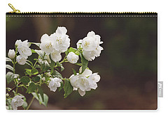 Carry-all Pouch featuring the photograph Mock Orange Blossoms by Kim Hojnacki