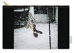 Carry-all Pouch featuring the photograph Mockingbird by Donald Paczynski