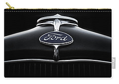 Carry-all Pouch featuring the digital art Model A Ford by Douglas Pittman