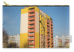 Carry-all Pouch featuring the photograph Modern Apartment Buildings by Juli Scalzi