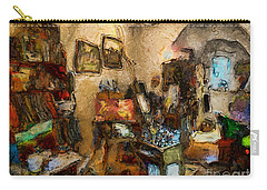 Modern Art Studio Carry-all Pouch