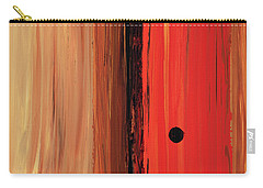 Carry-all Pouch featuring the painting Modern Art - The Power Of One Panel 1 - Sharon Cummings by Sharon Cummings