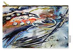 Modern Art Travel Log 05 Dec 9 2017 Carry-all Pouch
