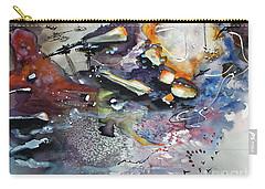 Modern Art Travel Log 03 Dec 7 2017 Carry-all Pouch