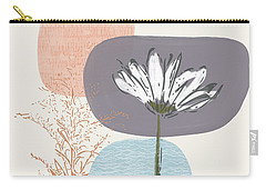 Modern Fall Floral 2- Art By Linda Woods Carry-all Pouch