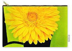 Carry-all Pouch featuring the photograph Modern Gerber by Marsha Heiken