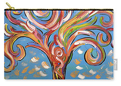 Modern Impasto Expressionist Painting  Carry-all Pouch