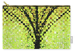 Modern Landscape Art - Pieces 10 - Sharon Cummings Carry-all Pouch by Sharon Cummings