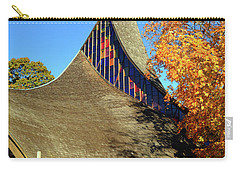 Modern New England Church In Fall Carry-all Pouch