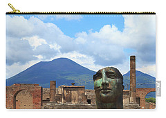 Modern Pompeii Art With Mount Vesuvius Carry-all Pouch