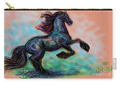 Modern Royal Friesian Carry-all Pouch
