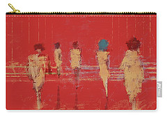 Carry-all Pouch featuring the mixed media Modern Society by Eduardo Tavares