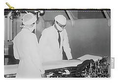 Carry-all Pouch featuring the photograph Modern Surgery by Daniel Hagerman