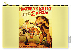 Modern Vintage Circus Poster Carry-all Pouch