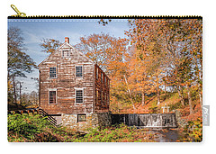 Moffett Mill In Autumn, Lincoln, Ri Carry-all Pouch