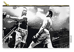 Mohamed Ali Float Like A Butterfly Carry-all Pouch