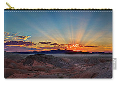 Mohave Sunrise Carry-all Pouch